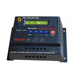 12V/24V AUTO/60A PWM SOLAR CHARGE CONTROLLER