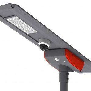 60W PSC SOLAR UK INH ALL-IN-ONE SOLAR STREETLIGHT BULKHEAD WITH 4G CCTV CAMERAS