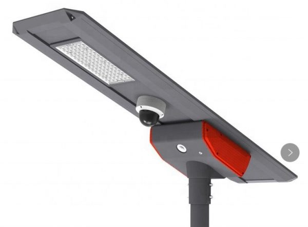 40W PSC SOLAR UK INH ALL-IN-ONE SOLAR STREETLIGHT BULKHEAD WITH 4G CCTV CAMERAS