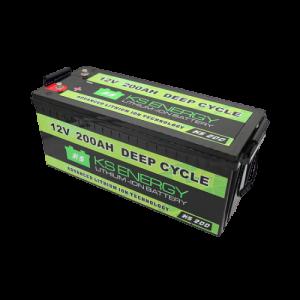 12V 200AH GSL Lifepo4 Deep Cycle Lithium Ion Battery