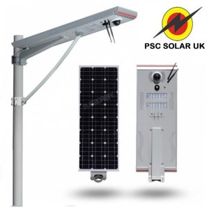 30W ALL-IN-ONE INTEGRATED SOLAR STREET LIGHT WITH CCTV CAMERA