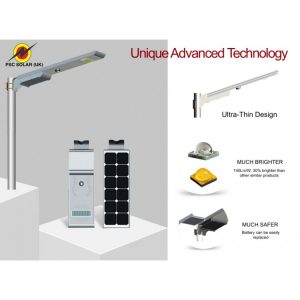40W NEW INTEGRATED ALL-IN -ONE SOLAR LED STREETLIGHT