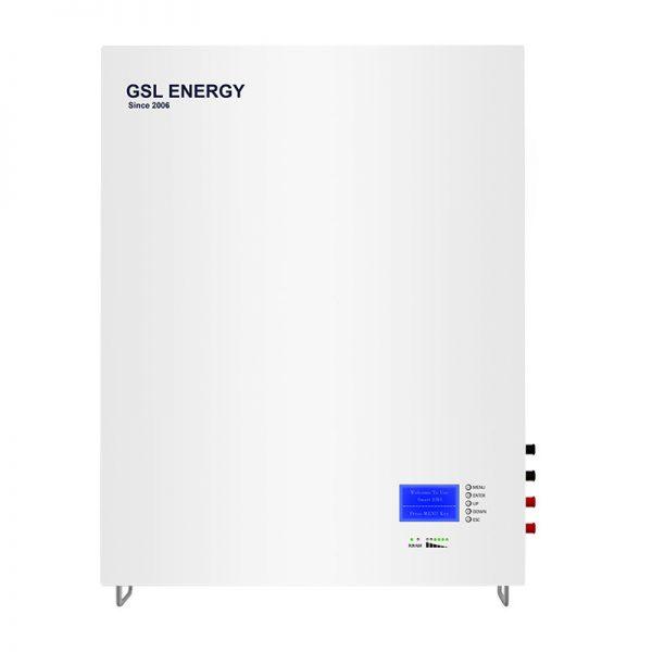 Powerwall GSL Lifepo4 48V/300AH 15kwh Lithium Battery For Solar Storage (SUPERTHIN)