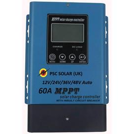 12V/24V/36V/48V Auto 60A SMR MPPT Solar Charge Controller