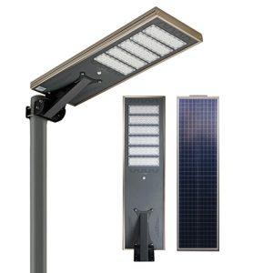 KK7100 - 100W ALL IN ONE COMPLETE LED SOLAR STREETLIGHT COMPLETELY INSTALLED