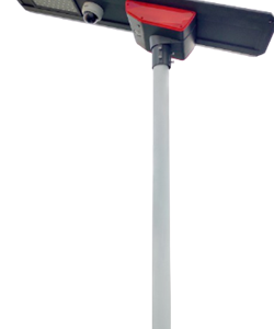 60W PSC SOLAR UK INH ALL-IN-ONE SOLAR STREETLIGHT INSTALLED WITH 4G CCTV CAMERAS