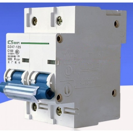 125A/500V (2 POLE) DC CIRCUIT BREAKERS