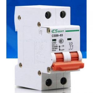63A/120-500V (2 POLE) DC CIRCUIT BREAKERS