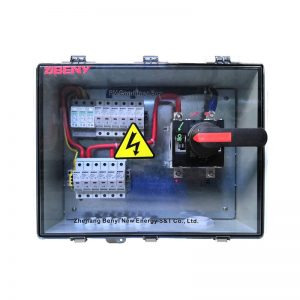 BHS-6/1 6 STRING SOLAR COMBINER BOX FOR PV APPLICATION