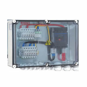 BHS-8/1 8 STRING SOLAR COMBINER BOX FOR PV APPLICATION