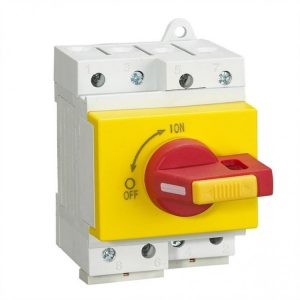 BYT.2A DC ISOLATOR SWITCHES, 4-POLE,16A/25A/32A AUTO 1,200VDC