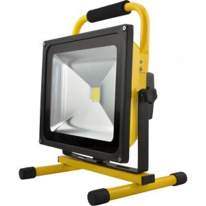 PSC SOLAR UK 50W RECHARGEABLE LED FLOOD LIGHT