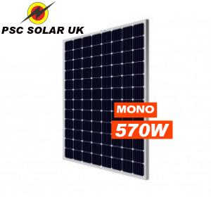 PSC SOLAR HJT Solar Cell 570Watt Mono Shingled ROOFING SOLAR PANELS
