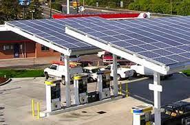 PHILLIPS 66 PETROL STATION SOLAR POWER PLANT