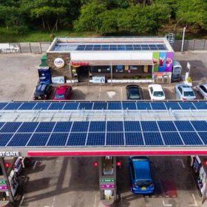 TOTAL FILLING STATION SOLAR POWER SYSTEM